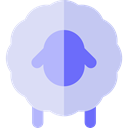 Sheep, Animals, mammal, wildlife, Animal Kingdom LightSteelBlue icon