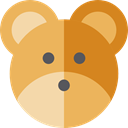 teddy bear, valentines, romantic, Fluffy, Heart, love, miscellaneous, Animals SandyBrown icon