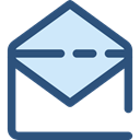 Email, envelope, Multimedia, Message, mail, interface, mails, envelopes, Communications DarkSlateBlue icon