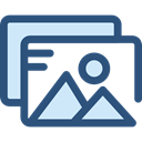 image, photo, picture, photography, interface, landscape, Files And Folders DarkSlateBlue icon