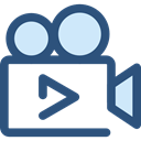 technology, video camera, cinema, film, movie, ui DarkSlateBlue icon