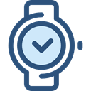 Tools And Utensils, Time And Date, Clock, time, watch, tool, square DarkSlateBlue icon