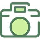 photograph, photo camera, picture, interface, digital, technology Icon