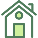Home, house, Construction, buildings, property, real estate DimGray icon