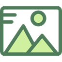 image, photo, picture, photography, interface, landscape, Files And Folders DimGray icon