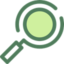 search, magnifying glass, Tools And Utensils, Seo And Web, zoom, detective, Loupe DimGray icon