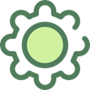 settings, configuration, ui, Gear, cogwheel, Tools And Utensils DimGray icon