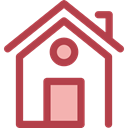 Home, house, Construction, buildings, property, real estate Sienna icon