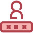 Alarm, Passkey, password, security Sienna icon