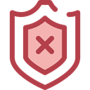 security, Protection, shield, weapons, defense Sienna icon