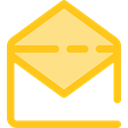 envelopes, Communications, Message, mail, interface, mails, Email, envelope, Multimedia Gold icon