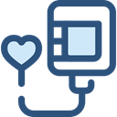 medical, donation, transfusion, Health Care, Blood Drop, Healthcare And Medical, Blood Donation DarkSlateBlue icon
