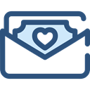 Notes, Business, Money, Cash, Currency, Business And Finance DarkSlateBlue icon