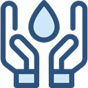 miscellaneous, weather, Rain, drop, water, nature, Teardrop, raindrop, Ecology And Environment DarkSlateBlue icon
