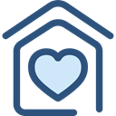Home, house, Construction, buildings, property, real estate DarkSlateBlue icon