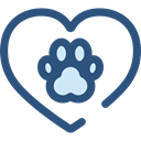Heart, interface, Like, shapes, Peace, lover, loving, Healthcare And Medical DarkSlateBlue icon