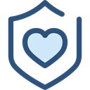 Antivirus, shield, defense, secure, security DarkSlateBlue icon