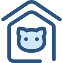 miscellaneous, Animals, kennel, Doghouse, Pet House, Dog House, Furniture And Household DarkSlateBlue icon