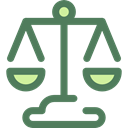 Business, law, judge, Balance, justice, zodiac, libra, Balanced, Business And Finance DimGray icon