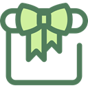 birthday, Birthday And Party, gift, present, surprise, Christmas Presents DimGray icon