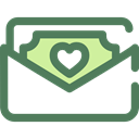 Notes, Business, Money, Cash, Currency, Business And Finance DimGray icon