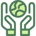 planet, ecology, Planet Earth, Earth Globe, Ecologic, Ecology And Environment DimGray icon