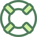 security, help, lifeguard, lifebuoy, Floating, Lifesaver DimGray icon
