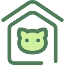 miscellaneous, Animals, kennel, Doghouse, Pet House, Dog House, Furniture And Household DimGray icon
