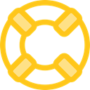 security, help, lifeguard, lifebuoy, Floating, Lifesaver Gold icon