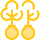 Ecology And Environment, Reforestation, nature, Forest, woods, ecology, trees, Ecologism Gold icon