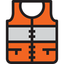 vest, Holidays, Lifesaver, Lifejacket Chocolate icon