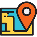 location, position, Geography, Maps And Flags, Maps And Location, Map, Orientation, interface Black icon