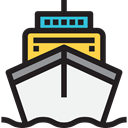 transportation, Boat, transport, ship, Cruise, Yacht, Ships WhiteSmoke icon