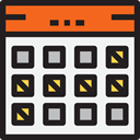 Administration, Holidays, Organization, Calendars, Calendar, time, date, Schedule, interface WhiteSmoke icon