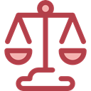 Balanced, Business And Finance, Business, law, judge, Balance, justice, zodiac, libra Sienna icon