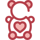 Animal, bear, Animals, children, teddy bear, childhood, puppet, Fluffy, Kid And Baby Sienna icon