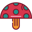 Mushroom, nature, Fungi, Amanita, Muscaria Crimson icon