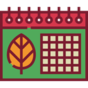 Administration, Organization, season, autumn, Calendars, Time And Date, date, Schedule, fall, interface, Calendar, time Brown icon