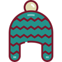 clothing, warm, hats, fashion, winter hat DarkCyan icon