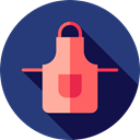 Protection, Cloth, kitchen, fashion, apron, Food And Restaurant, Furniture And Household DarkSlateBlue icon