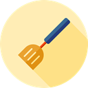 tool, food, Cooker, Cooking, Spatula, kitchenware, Tools And Utensils, Food And Restaurant Moccasin icon