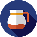 tea, food, Cafe, hot drink, Coffee Shop, Coffee Pot, Food And Restaurant DarkSlateBlue icon