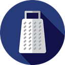 food, Cheese, kitchen, utensil, Tools And Utensils, Grater, Food And Restaurant DarkSlateBlue icon