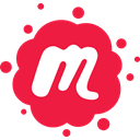 network, Meetup, new logo, new meetup, Logo, Social, peoples Crimson icon