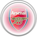 flag, Football, Arsenal, premier english LightPink icon
