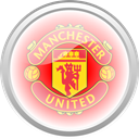 flag, Manchester united, Football, premier english LightPink icon