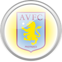 Aston villa, flag, Football, premier english Black icon