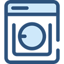 washer, washing machine, technology, Laundry DarkSlateBlue icon