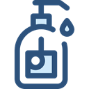 Bath, bottles, soap, Bottle, Shampoo, Bathing DarkSlateBlue icon