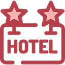 sign, hotel, Rest, Hostel, signs Sienna icon